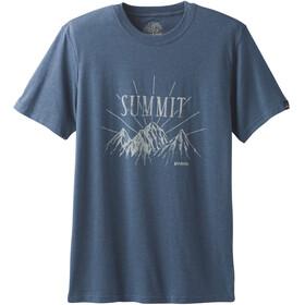 Prana Keystone - Camiseta manga corta Hombre - azul